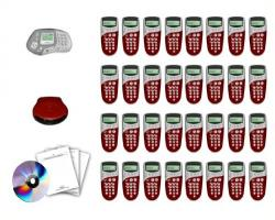 Qwizdom Q4 Remote-Complete Kit Q4 Cliker Teachers Remote Q5 Audience Response System