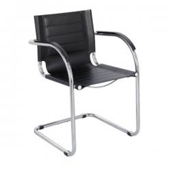 Safco Flaunt Leather Guest Chair 3457