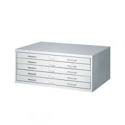 Safco Small Facil Steel Flat File Cabinet 4969LG