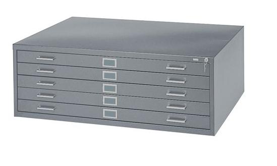 Safco 5-Drawer Steel Flat File 4994
