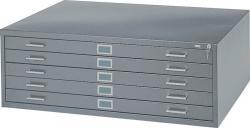 Safco 5-Drawer Steel Flat File 4994
