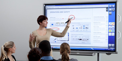 Sharp Aquos PN L702B Interactive Whiteboard