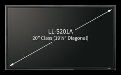 Sharp LL-S201A Touchscreen Display