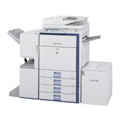 Sharp MX-3501N MultiFunction Printer-Scanner-Copier (Optional: Fax)