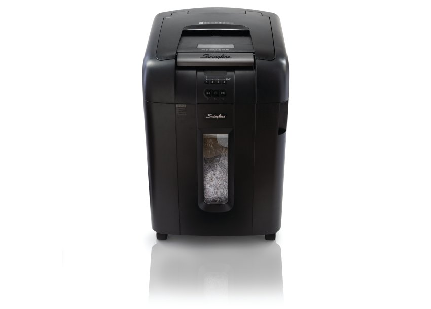 Swingline Stack-and-Shred 500M Auto Feed Shredder