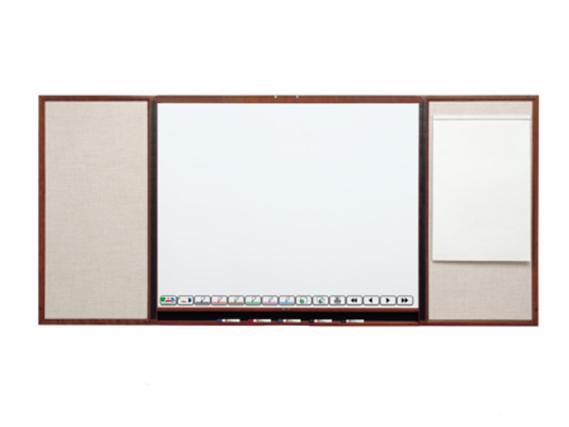 Teamboard TMBW54CH Presentation Cabinet