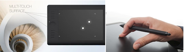 Multi-touch Tablet Surface