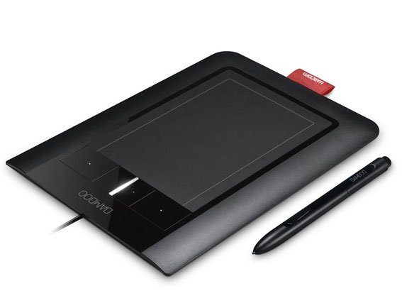 Wacom Bamboo Pen & Touch Small Tablet