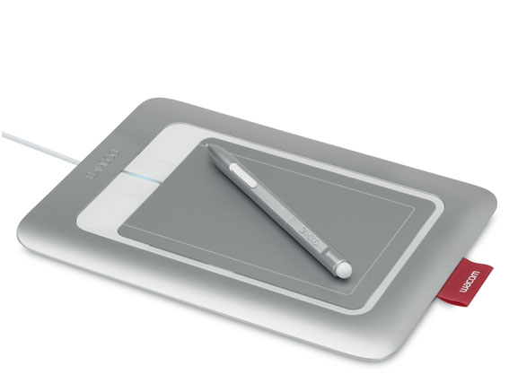 Wacom Bamboo Craft Pen & Touch Tablet