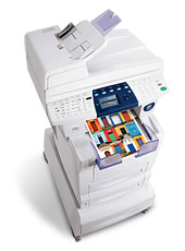 Xerox Phaser 8560MFP Multifunction Printer-Copier-Scanner